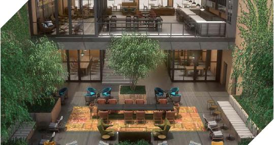 波特兰希尔顿树冠酒店项目
